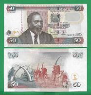 KENYA - 50 SHILLINGS - 2010 - UNC - Kenia