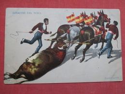 Arrastre Del Toro   Ref    3593 - Corrida