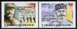 France - 2019 - General Berthelot - Joint Issue With Romania - Mint Stamp Set - Nuevos