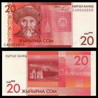 KYRGYZSTAN - 20 SOM - 2009 - UNC - Kirgisistan