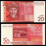 KYRGYZSTAN - 20 SOM - 2009 - UNC - Kirgizïe