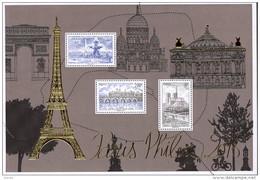 "La Feuille F5048 ""PARIS-PHILEX 2016"" Luxe Bas Prix, A SAISIR. - Fogli Completi"