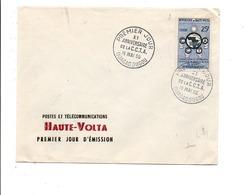 HAUTE VOLTA FDC 1960 10 ANS C C T A - Haute-Volta (1958-1984)