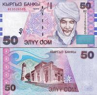 KYRGYZSTAN - 50 SOM - 2002 - UNC - Kirgisistan