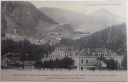 BRIANCON - Ville La Plus élevée De L'Europe...-La Gare Dans Le Fond Sommet Du Chaberton (fort Italien) - Briancon