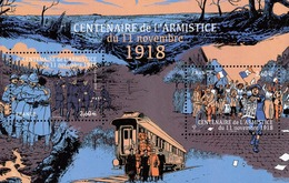 France - 2018 - Centenary Of Armistice Of 11 November 1918 - Mint Souvenir Sheet - Francia