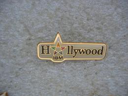 Pin's IBM Hollywood - Informatique
