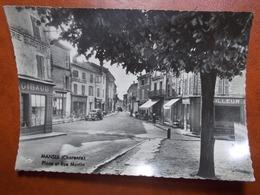 Carte Postale  - MANSLE (16) - Place Et Rue Martin (3506) - Mansle