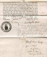 Hist. Dokument / 1832 / Schuld- Und Pfandurkunde Ex Loerrach (24230) - Historische Dokumente