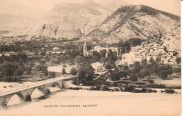 04.JAV- LA JAVIE , Vue Gnénrale, La Bléone - France
