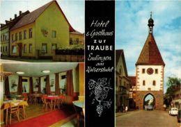 CPA AK Endingen Hotel Und Gasthaus Zur Traube GERMANY (891358) - Endingen