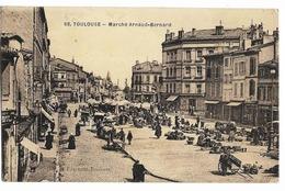 TOULOUSE Marché Arnaud-Bernard Ed. Fourment 68 - Toulouse