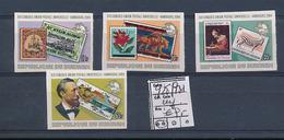 BURUNDI 1985 ISSUE COB 928/931 IMPERFORATED MNH - 1980-89: Neufs