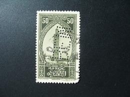 Perforé Perfin Maroc , Perforation : BEM 6  à Voir - Marokko (1891-1956)