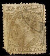 España Edifil 209 (º)  10 Pesetas Oliva  Alfonso XII  1879  NL1472 - Usados