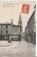 CPA 79 --  PARTHENAY -- Grande Rue + Mercerie Et Café Des Arts En 1915 - Parthenay