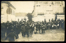 PÁPA 1919. Ünnepség, Fotós Képeslap , Fotó : Beltz Gy.  /  Festivities Photo Vintage Pic. P.card By Gy. Beltz - Hungary