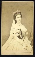 1866. Rabending : Erzsébet Kirányné Royalty  Queen Elisabeth Nice Visit Photo - Otros