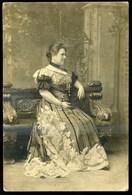 IZABELLA Főhercegnő, Isabella Hedwig Franziska Natalia Von Croÿ-Dülmen 1856-1931. Fotó 19*12 Cm - Photographs