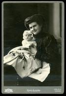 IGLÓ 1900. Cca. Matz Gusztáv Cabinet Fotó Műtermes Verso-val !  /  Gusztáv Matz Vintage Cabinet Photo Studio Verso - Photographs