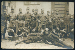 I. VH 1917. Katonák, Fotós Képeslap  /  WW I. 1917 Soldiers , Photo Vintage Pic. P.card - Hungary