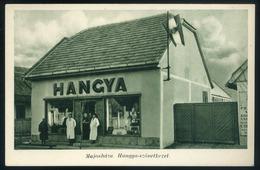 MAJOSHÁZA Hangya üzlet, Régi Képeslap  /  Hangya Shop Vintage Pic. P.card - Hungary