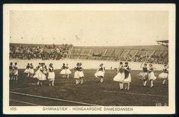 1928. SPORT AMSZTERDAM OLIMPIA , Magyar Táncosok , Képeslap Alkalmi Bélyegzéssel  /  SPORT AMSTERDAM OLYMPICS Hun. Dance - Covers & Documents