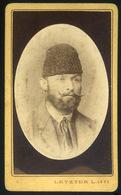 KASSA 1871. Letzer L : Ismeretlen Férfi, Visit Fotó  /  L. Letzer : Unknown Man Visit Photo - Photographs