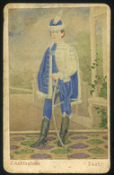 PEST 1865-70. Achtzehner József : Clemenz Sándor Visit Fotó  /  József Achtzehner: Sándor Clemenz Visit Photo - Photographs