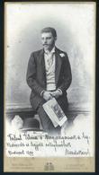 1897. Noseda Károly 1863-1944. Karmester és Zeneszerző. Erkel Ferenc, Nikolits Sándor, Ábrányi Kornél és Koessler János  - Photographs