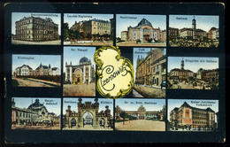 CZERNOWITZ  1916. Képeslap, Zsinagógával, Tábori Postával Budapestre Küldve  /  Vintage Pic. P.card, Synagogue, Via FPO  - Religion & Esotericism