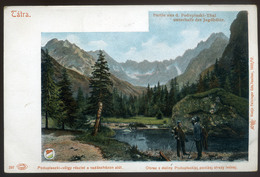 TÁTRA 1905. Poduplaszki-völgy, Régi Képeslap  /  Poduplaszki-valley Vintage Pic. P.card - Hungary