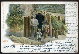 TÁTRA  Szepesi Cigányok , Régi Képeslap  /  Gypsies Of Szepes Vintage Pic. P.card - Hungary