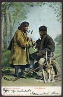 TARACKÖZ 1905. Cigány Kovácsok Képeslap, Szép Egykörös Bélyegzéssel  /  Gypsy Blacksmiths Vintage Pic. P.card, Nice Sing - Hungary