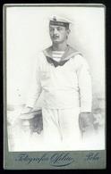 K.u.K. Haditengerészet, POLA 1909. Erzh. Karl Matróz, Visit Fotó  /  K.u.K. NAVY POLA 1909 Karl Erzh Sailor Visit Photo - Otros