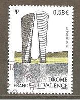 France 2013 N ° Y T 4735 - Oblitéré Cachet Rond Valence (Drôme) - Oblitérés