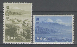 JAPON:  N°465/466 *      - Cote 175€ - - Neufs