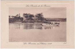 35. LES BORDS DE LA RANCE. La Rivière Au Chêne Vert - France
