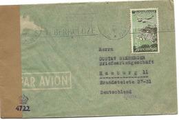 150 - 51 - Enveloppe Envoyée De Yougoslavie - Censure - Zona Anglo-Américan