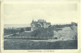 CPA DE FRANCEVILLE-PLAGE  (CALVADOS)  LE PETIT MANOIR - Other Municipalities
