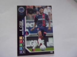 Carte FOOT PANINI DERBY TOTAL N° 180 Milieu E. CISSE  PSG Paris Saint-Germain - Andere Kaartenspelen