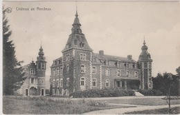 RELAIS  * RENDEUX * 1913 - Carte Vue - Le Château - 2 Scans - Rendeux