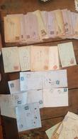 LOT + 270 ENTIERS POSTAUX , MARCOPHILIE, LETTRES, AUTRES.. VOIR LES PHOTOS - Enteros Postales