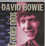 CD - GRANDES MITOS - DAVID BOWIE - Rock