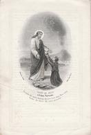 Emma Coralia Maria Lambin-yper 1838-1862 - Devotieprenten