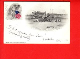 Mortar Battery , Sandy Hook N.J. (pli CoinS)  New Jersey - Etats-Unis