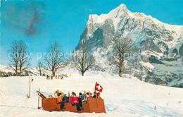 13298561 Grindelwald Funi Mit Wetterhorn Wintersportplatz Berner Alpen Grindelwa - BE Berne