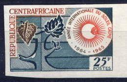 CENTRAFRICAINE - 36ND** - ANNEE INTERNATIONALE DU SOLEIL CALME - Centrafricaine (République)