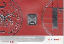 Nederland  Zilver 12,75 Gulden 2001 - 1980-... (Beatrix)