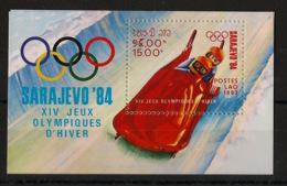 Laos - 1983 - Bloc Feuillet BF N°Yv. 75 - Olympics / Sarajevo - Neuf Luxe ** / MNH / Postfrisch - Winter 1984: Sarajevo